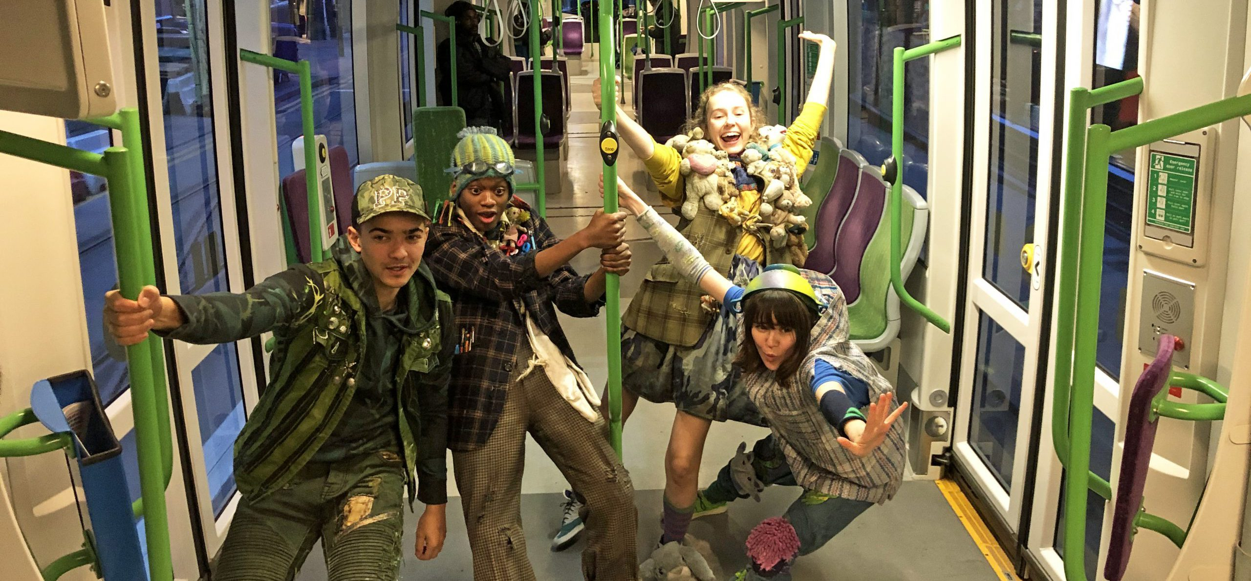 Newly Opened Tram Stop Takes Passengers All The Way To Neverland