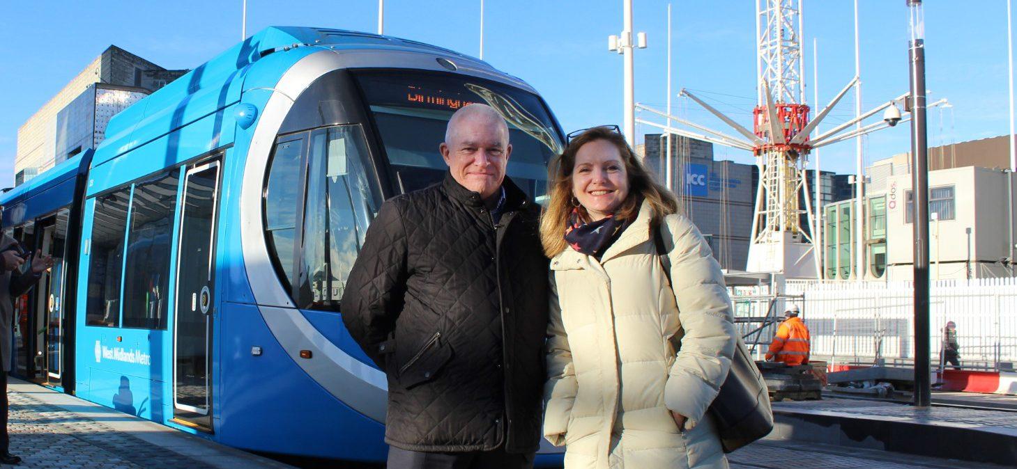 Birmingham city centre tram extension opens to passengers ahead of schedule
