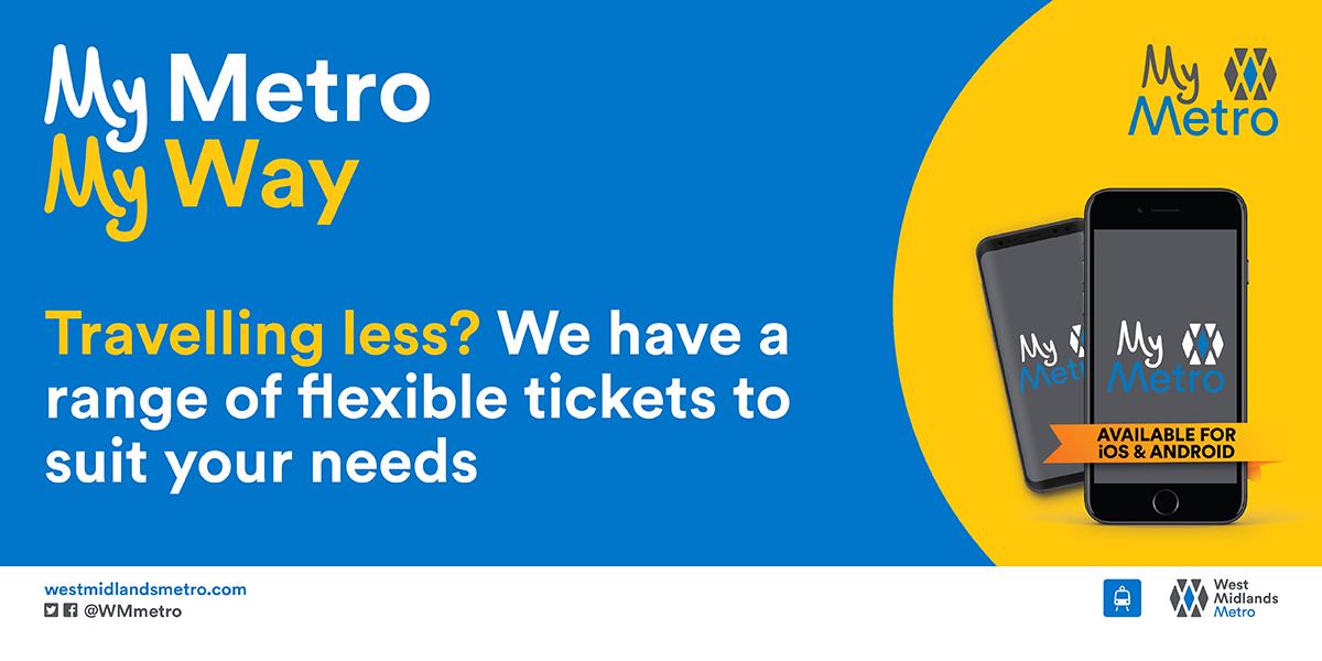 Metro launches flexible ticket range to help customers plan ahead