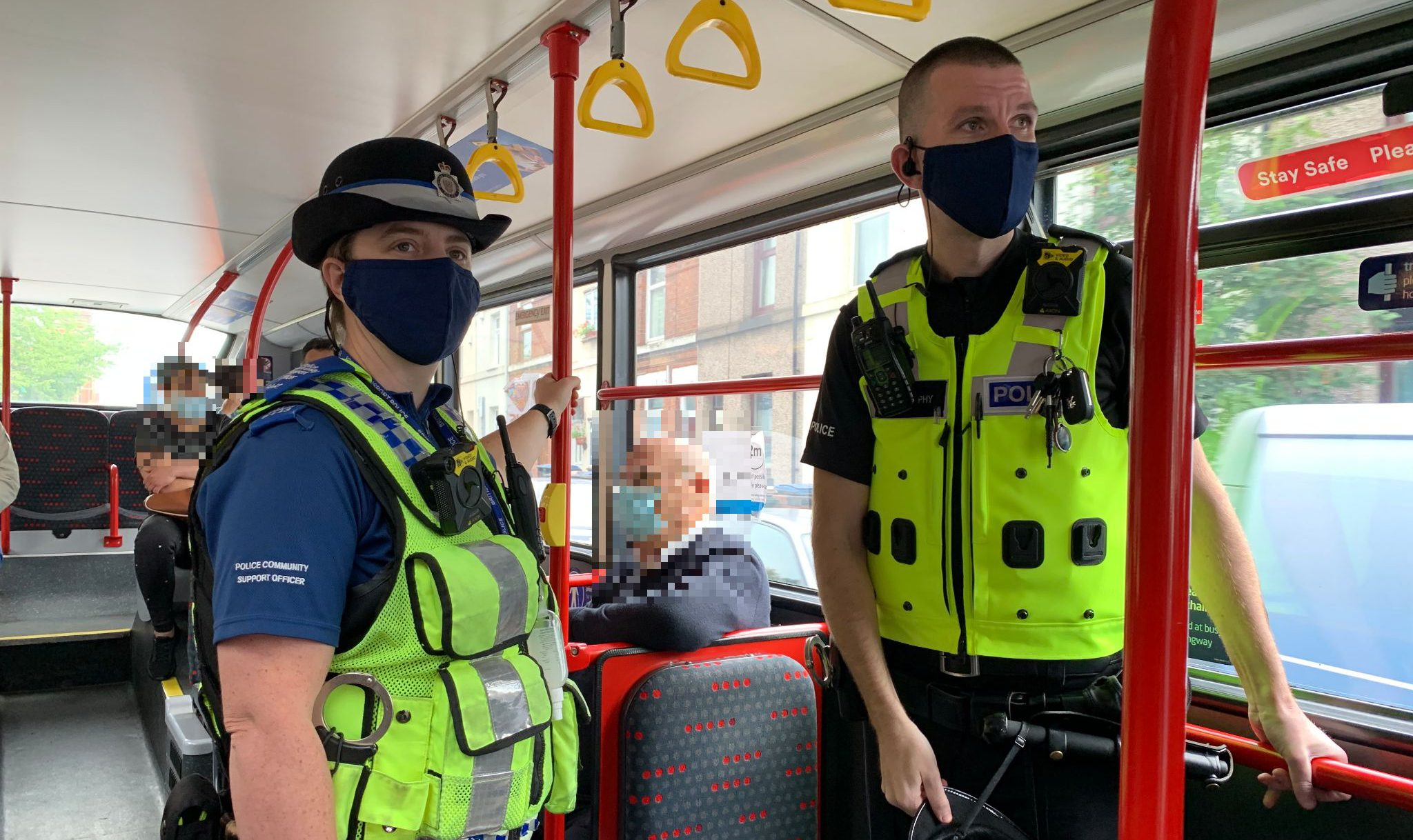 Safer Travel Clampdown On Passengers Not Wearing Face Coverings